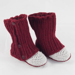 High Rise Baby Boots